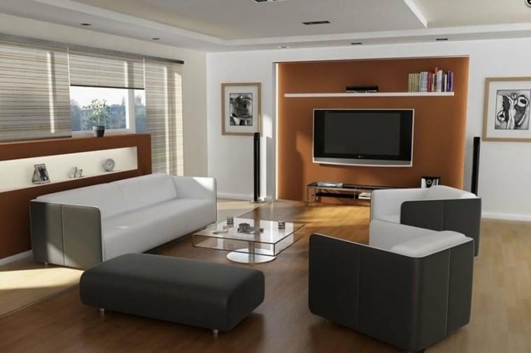 bonito salon estilo minimal moderno