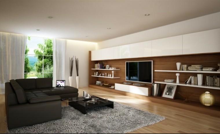 bonito salon sofa color negro