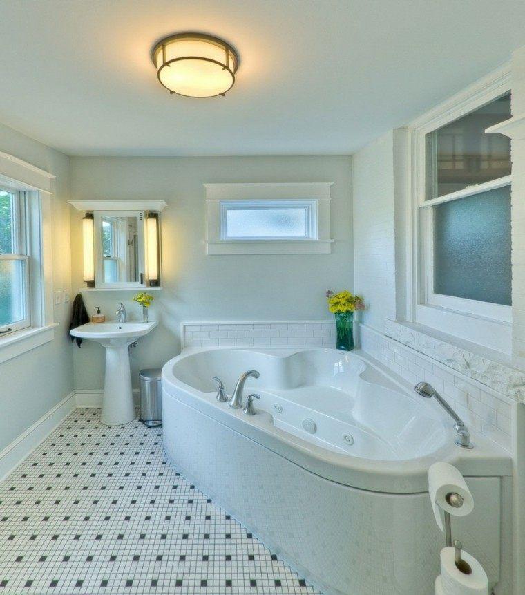 bonito diseño baño tonos claros