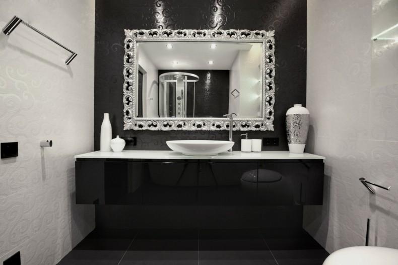 bonito espejo bao marco plata