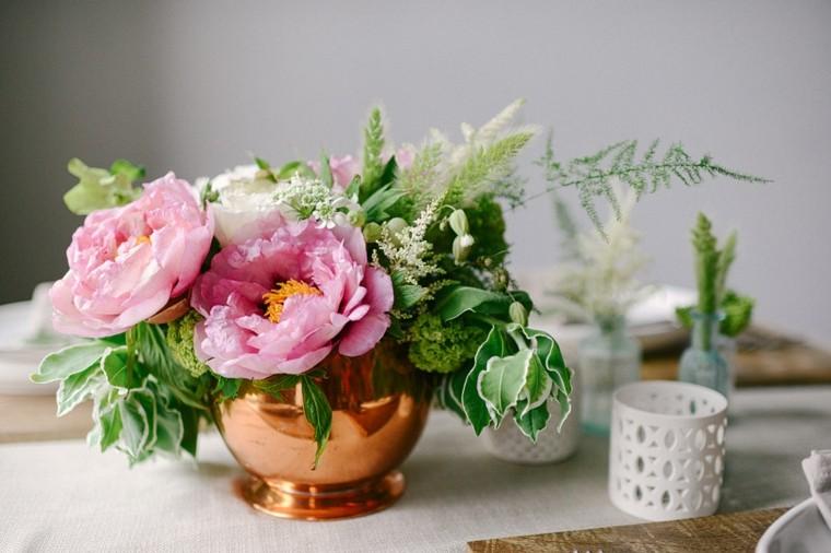bonito centro mesa flores