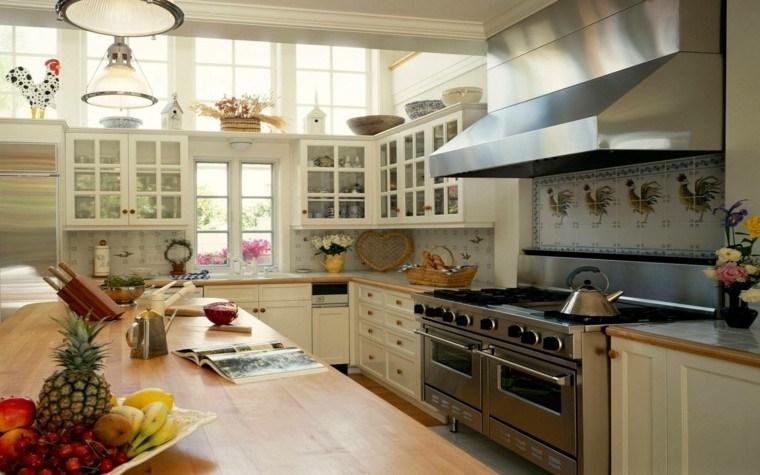 bonito diseño cocina estilo tradicional