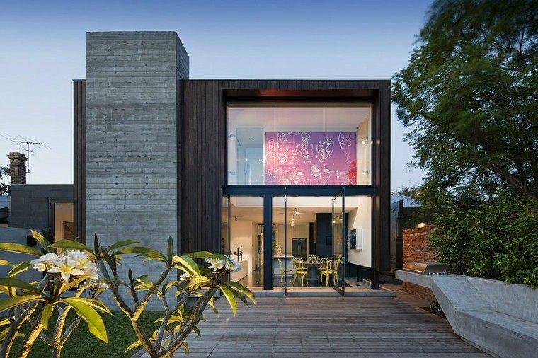 Fachadas modernas de estilo contempor neo for Estilo moderno contemporaneo