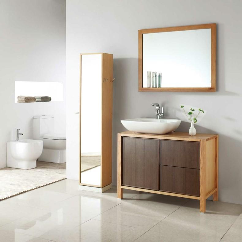 Espejos para ba os modernos 38 modelos con estilo for Espejos modernos para habitaciones