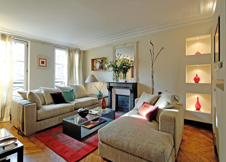bonitos muebles salon estilo moderno