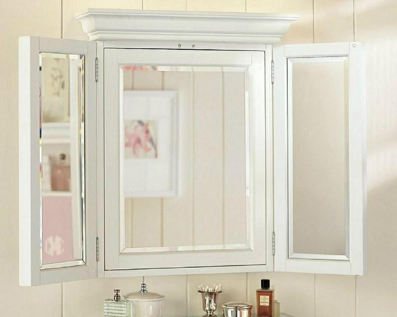 Espejos para ba os modernos 38 modelos con estilo for Espejo bano vintage