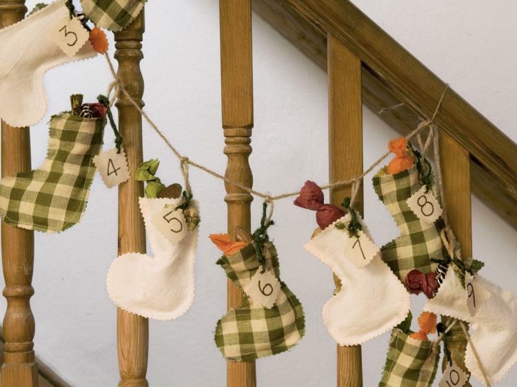 calcetines casa nombres arboles cuerdas
