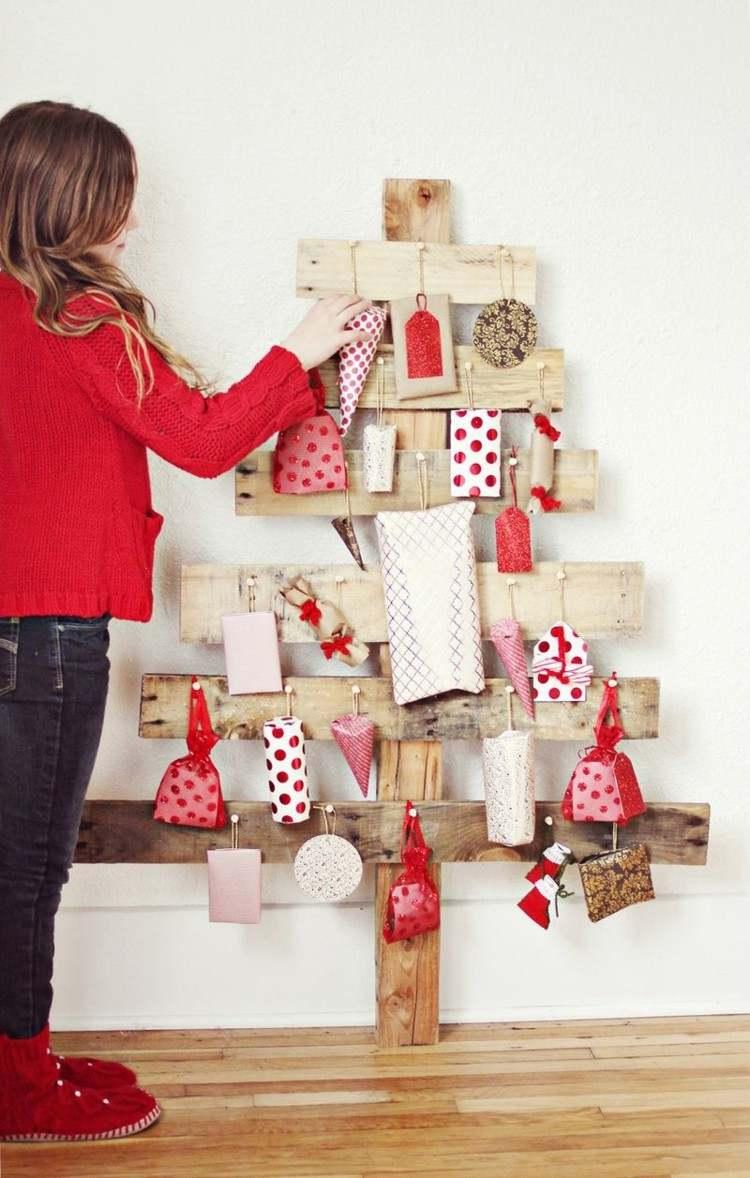 calendario de adviento maderas lunares regalos