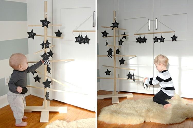 calendario de adviento soluciones infantil estrellas