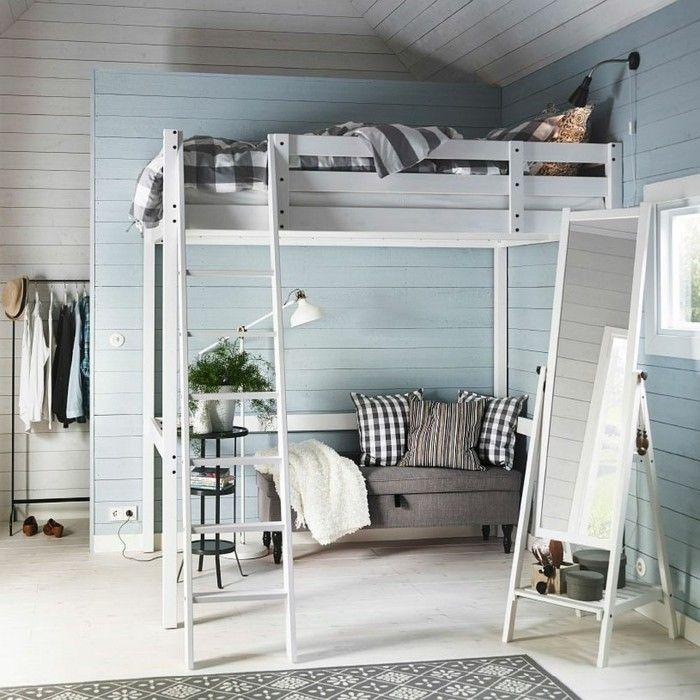 cama original madera dormitorio natural ideas