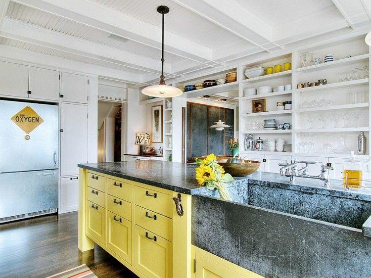 campestre diseños elegante muebles ideas amarillo