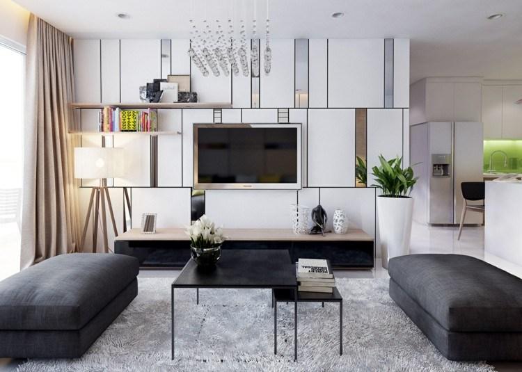 casa diseño areas alfombras sillas