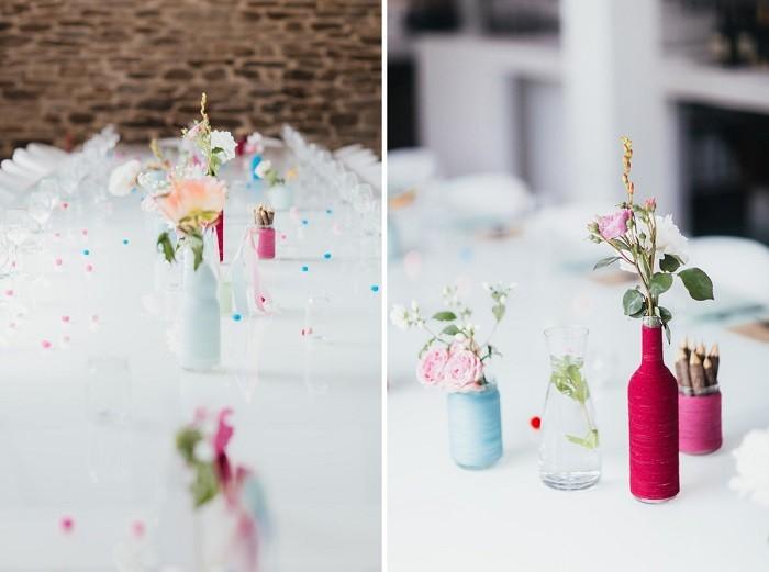 centro simple mesa preciosa ideas
