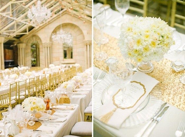 centros mesa bodas preciosos lujosos ideas