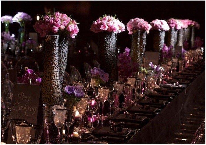centros mesa bodas preciosos marron ideas