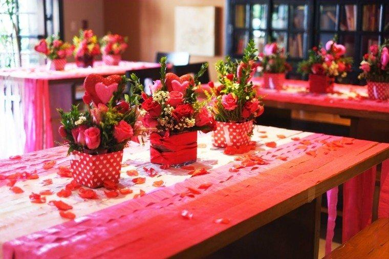 centros mesa san valentin