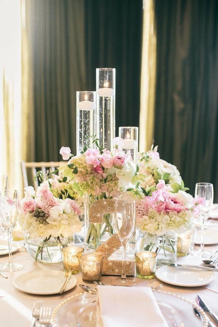 centrosd mesa para bodas blanco flores ideas with decoracion para bodas de plata