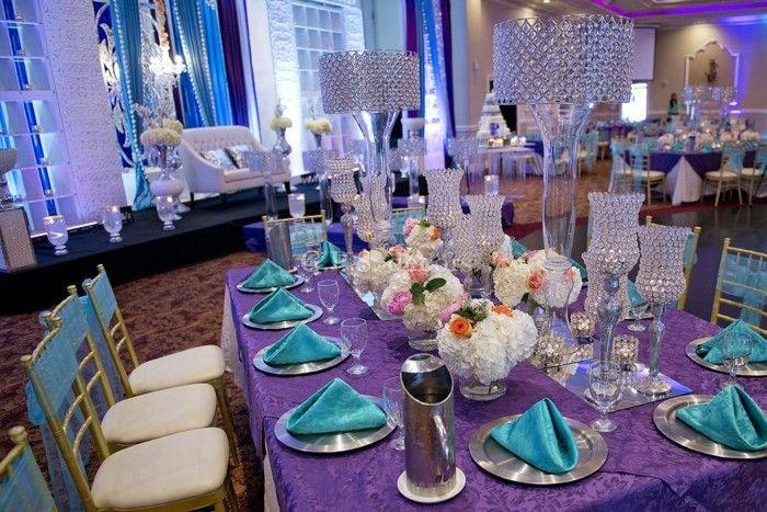 centros de mesa para bodas copas decorativas ideas