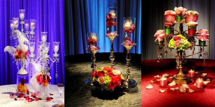 centros de mesa para bodas ideas candelabros ideas