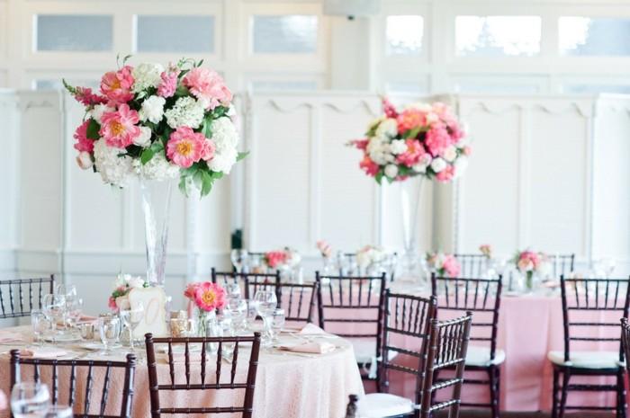 Centros de mesa para bodas 100 ideas maravillosas - Decorar jarrones de cristal ...
