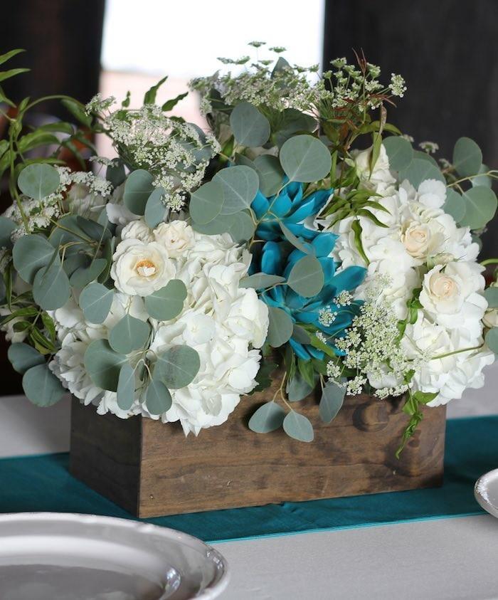 centros de mesa para bodas romantico pequeno ideas