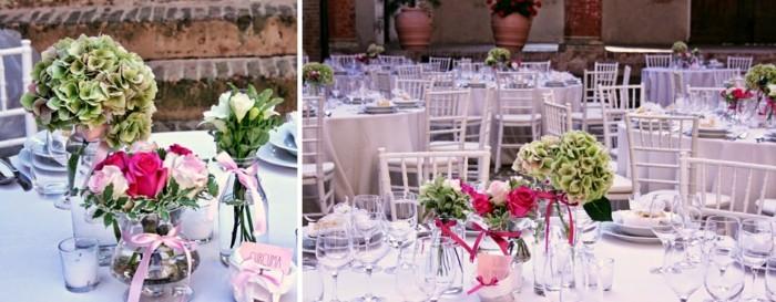 centros para bodas bonito ramantico ideas