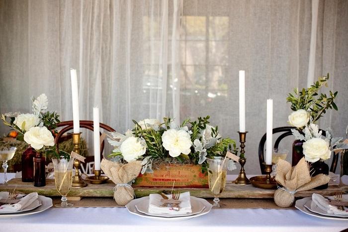 Ideas Para Matrimonio Rustico : Centros de mesa para bodas ideas maravillosas