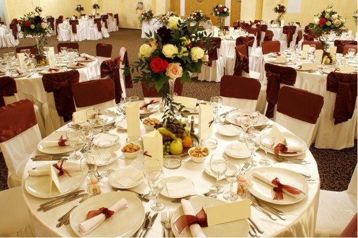 centros mesa bodas frutas flores ideas