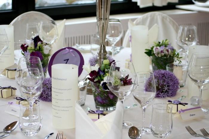centros mesa bodas ramos pequenos ideas