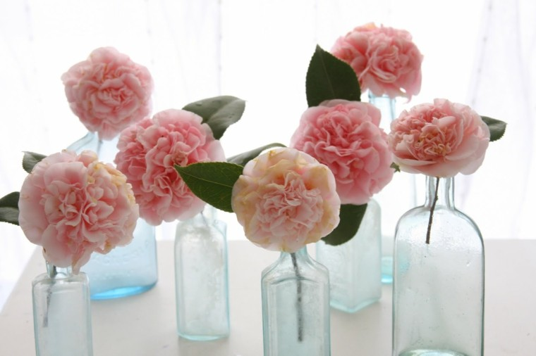 centros de mesa flores color