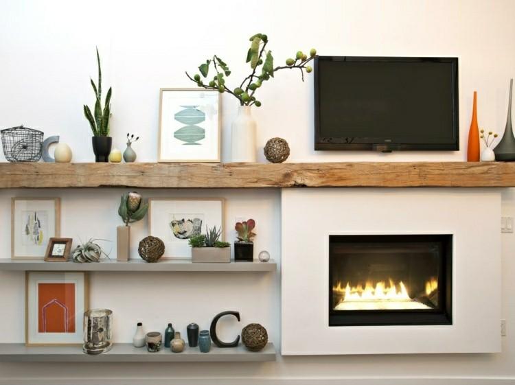Chimeneas bioetanol y televisor integrado en la pared - Calientan las chimeneas de bioetanol ...