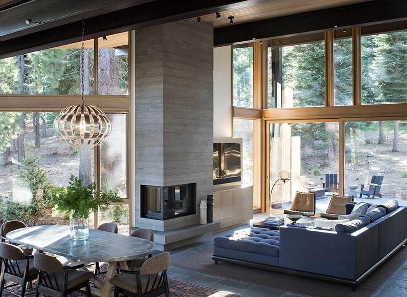 chimeneas fuego calor casa granito ideas