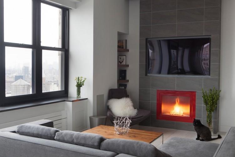 Chimeneas modernas decoracion con aires acogedores - Chimeneas modernas decoracion ...
