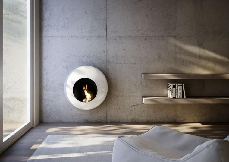 Chimeneas de bioetanol para interiores modernos