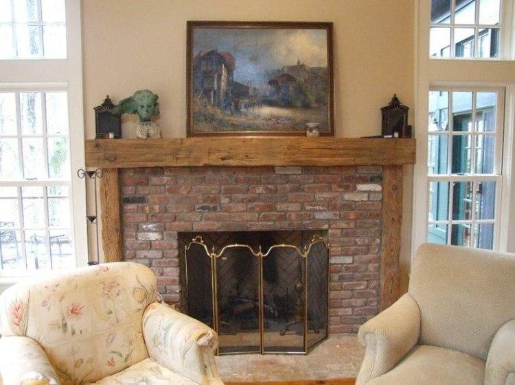 Chimeneas rusticas para ambientes campestres frescos for Chimeneas de madera