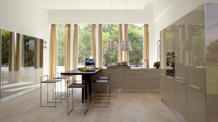 cocinas modernas diamente muebles preciosos ideas