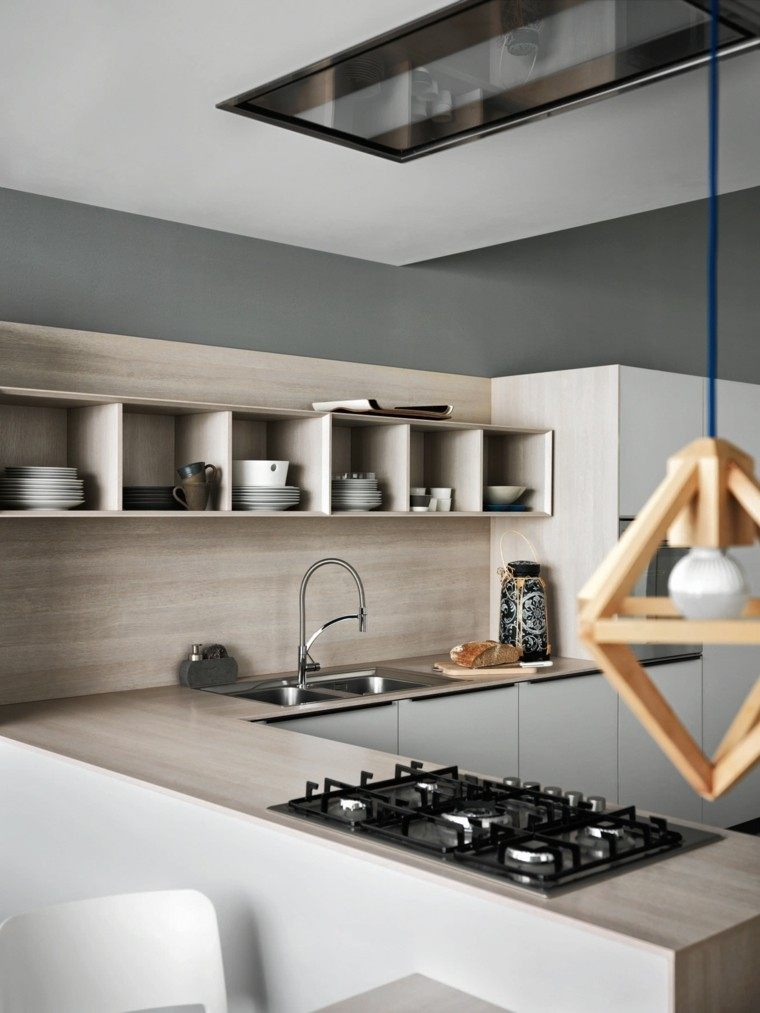 Cocinas modernas completamente equipadas - Credence stratifie cuisine ...