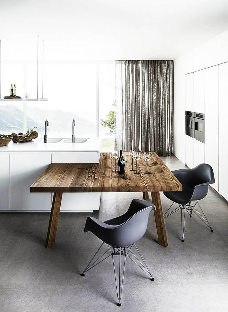 cocina escandinava diseño moderno