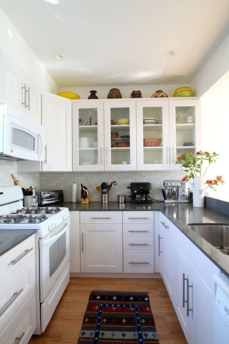 Cocina peque a con mucho estilo 38 ideas for Estilos de cocinas