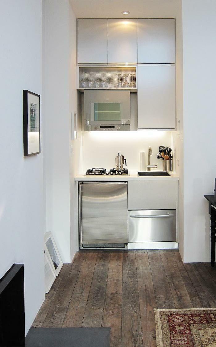 Cocinas peque as ideas interesantes de dise o - Electrodomesticos para cocinas pequenas ...