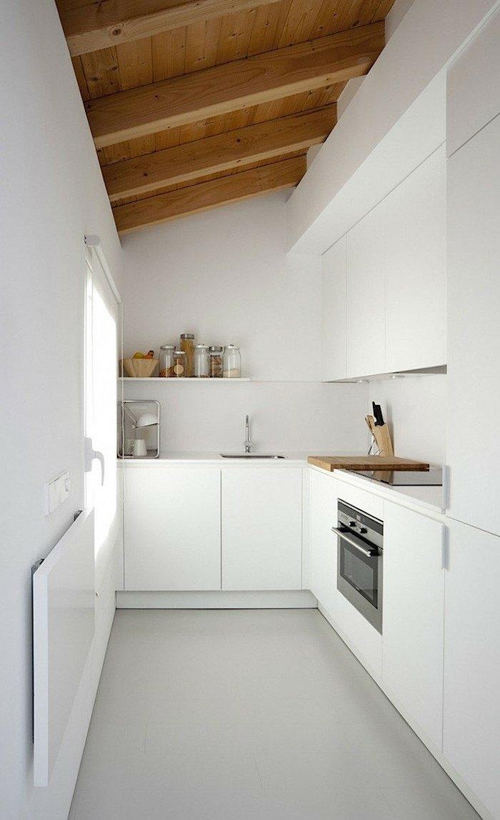 Cocinas peque as ideas interesantes de dise o for Muebles cocina pequena
