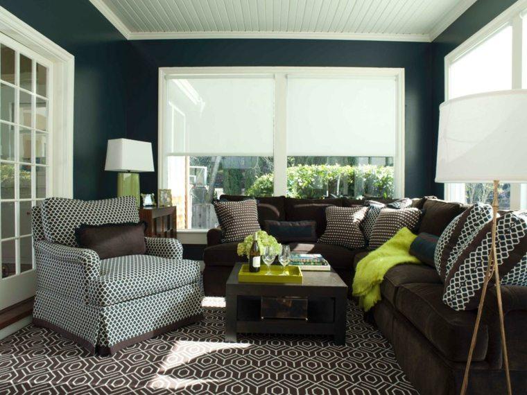 Colores para pintar salon a adir alegr a y animarlo - Couleur tendance pour salon salle a manger ...