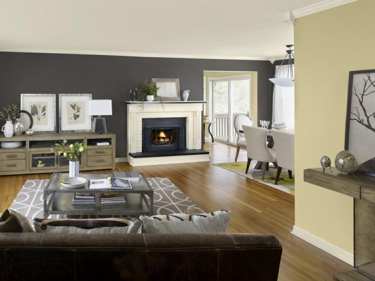 Colores para pintar salon a adir alegr a y animarlo - Color para pintar un salon ...
