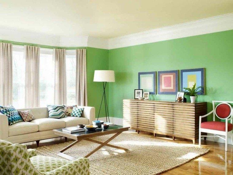 elegir colores para salones modernos