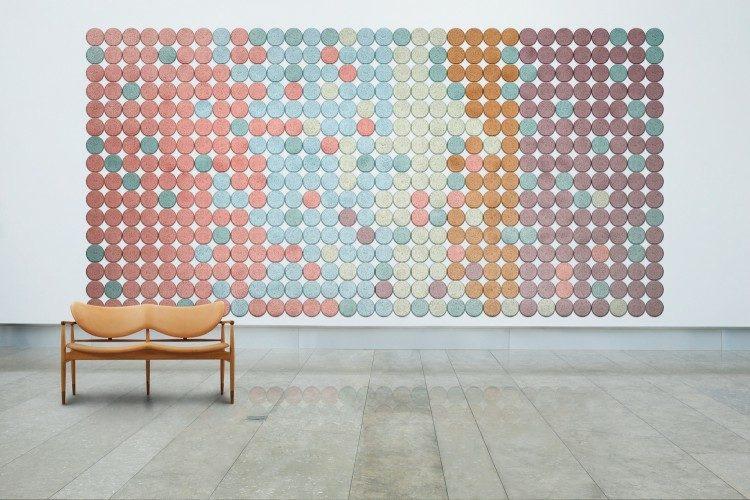 colorido estolo amplio casa minimalista