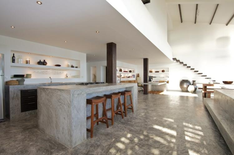 concreto ideas soluciones casa lujo sillas