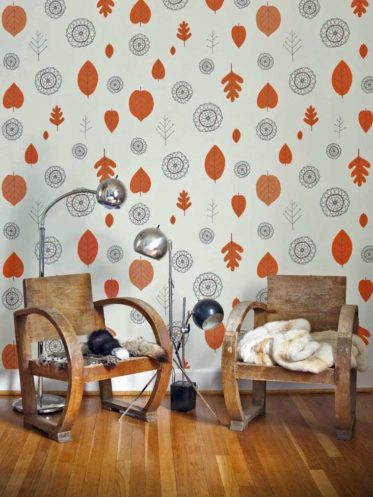 decoracion vintage sillas madera ideas