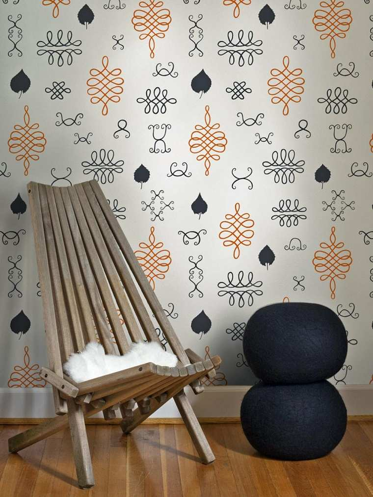decoracion vintage sillon madera ideas