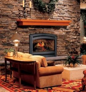 chimeneas rusticas para ambientes campestres frescos