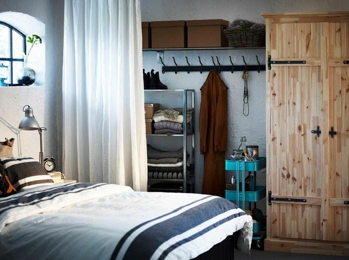 crear toque rustico natural armario madera ideas